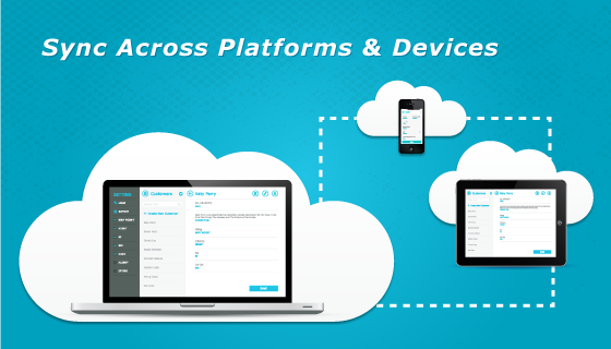 Sync across platforms and devices