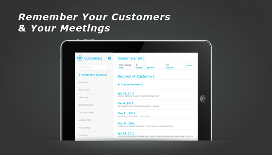 remember customers meetings